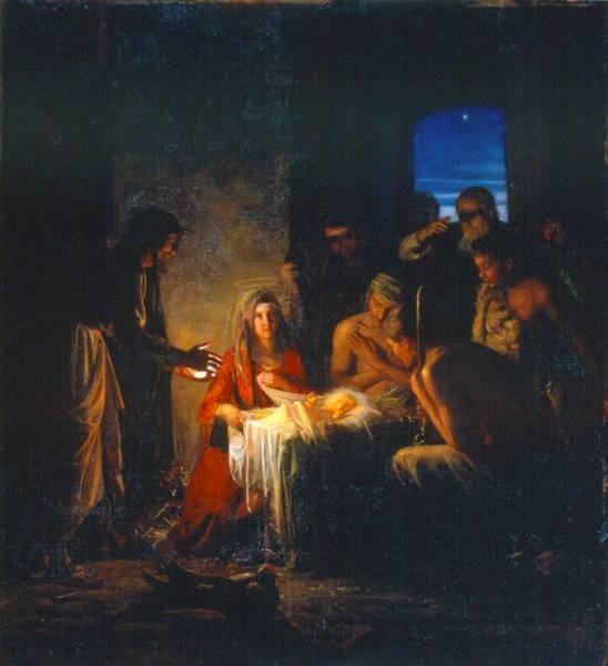 Carl Heinrich Bloch The Birth of Christ